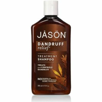 Jason Natural Cosmetics Dandruff Relief Shampoo 12 oz (Pack of 4)