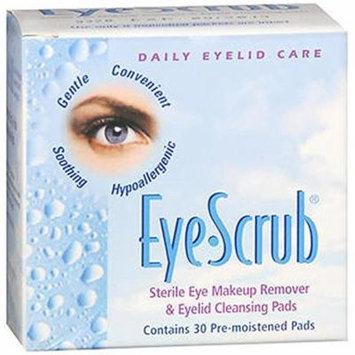 4 Pack - Eye Scrub Sterile Eye Makeup Remover - Eyelid Cleansing Pads 30 Each