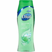 Dial Antibacterial Body Wash With Moisturizers, Mountain Fresh 16 oz (Pack of 2)