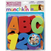 Munchkin Bath Letters & Numbers Bath Toys 1 ea (Pack of 3)