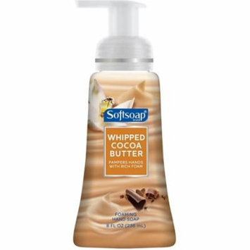 Softsoap Foaming Hand Soap, Whipped Cocoa Butter 8 oz (Pack of 6)