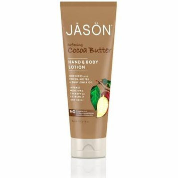 Jason Hand & Body Lotion, Softening Cocoa Butter 8 oz (Pack of 6)