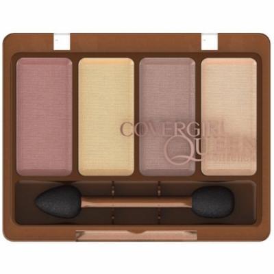 CoverGirl Queen Collection Eyeshadow Quads, Desert Bronze [Q225] 0.19 oz (Pack of 4)