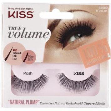 KISS True Volume Lash, Posh 1 ea (Pack of 3)