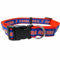 University of Florida Nylon Adjustable Dog Collar