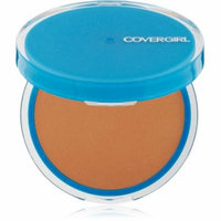 CoverGirl Clean Oil Control Compact Pressed Powder, Soft Honey [555] 0.35 oz (Pack of 4)