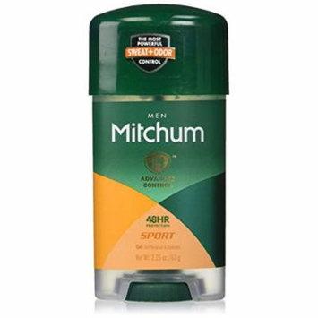 3 Pack Mitchum Men Power Gel Anti-Perspirant Deodorant Sport 2.25 oz
