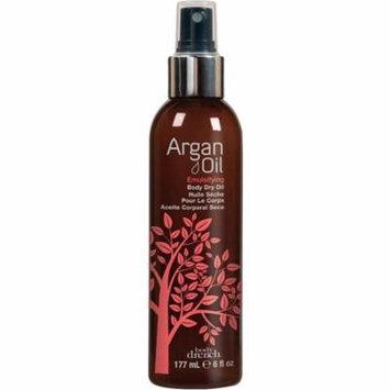 Body Drench Emulsifying Body Dry Oil, Argan Oil 6 oz (Pack of 3)
