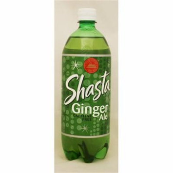 15 PACKS : Shasta Ginger Ale, 33.81-Ounce Bottles