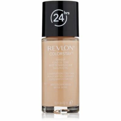 Revlon Colorstay for Combo/Oily Skin Makeup, Golden Beige [300] 1 oz (Pack of 4)