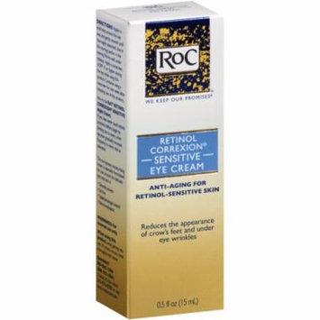 RoC Retinol Correxion Sensitive Eye Cream 0.50 oz (Pack of 3)