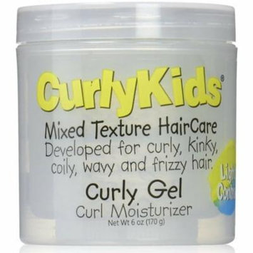 Curly Kids Curly Gel Moisturizer, 6 oz (Pack of 4)