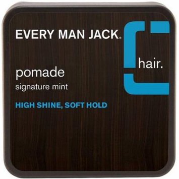 Every Man Jack High Shine Pomade, Soft Hold 2.65 oz (Pack of 6)