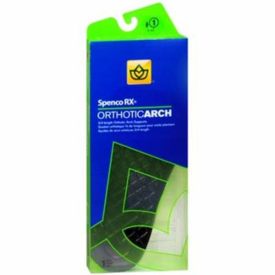 Spenco RX 3/4 Length Orthotic Arch Supports #1 1 Pair (Pack of 3)