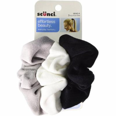 Scunci Effortless Beauty Velour Comfy Twister 3 ea (Pack of 3)