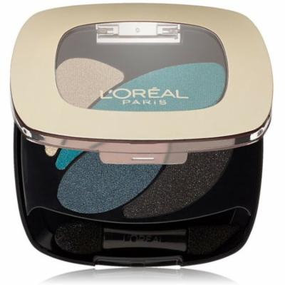 L'Oreal Paris Colour Riche Dual Effects Eyeshadow, Emerald Conquest [290] 0.12 oz (Pack of 4)