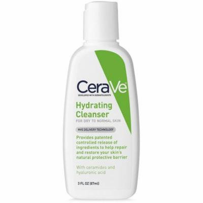 CeraVe Hydrating Cleanser 3 oz (Pack of 4)