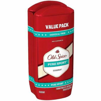 Old Spice High Endurance Deodorant Twin Pack, Pure Sport 3 oz, 2 ea (Pack of 2)