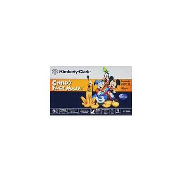 KIMBERLY-CLARK Childs Face Mask with Stretchable Ear Loops