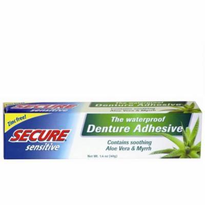 Secure Sensitive Denture Adhesive, 1.4 oz (Pack of 3)