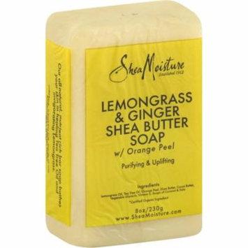 Shea Moisture Lemongrass & Ginger Shea Butter Soap 8 oz (Pack of 3)