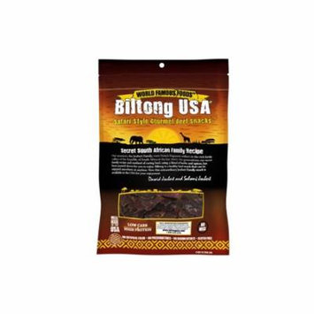 Biltong USA Biltong Sliced, Original Flavor, 8oz Bag