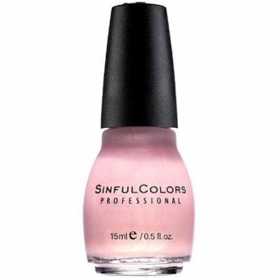 Sinful Colors Professional Nail Polish Enamel, Glass Pink [376] 0.50 oz (Pack of 6)