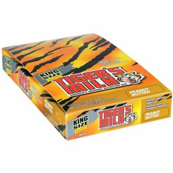 96 PACKS : Schiff Tiger's Milk Peanut Butter Nutrition Bars - Energy Packed Snack Fortified with Vitamins & Minerals - 55 grams, 1.94 oz