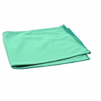Real Clean Green Microfiber Window Towel 16 inchX16 inch
