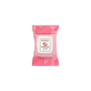 7 Pack Burt's Bees Pink Grapefruit Facial Cleansing Towelettes - 30 count Each