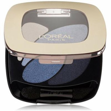 L'Oreal Paris Colour Riche Dual Effects Eyeshadow, Eternal Blue [280] 0.12 oz (Pack of 4)