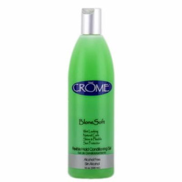 Crome Blone Soft Flexible Hold Conditioning Gel (Size : 16 oz)