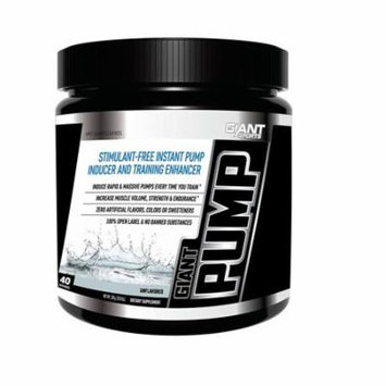 Giant Sports Giant Pump, Unflavored, 40 Servings