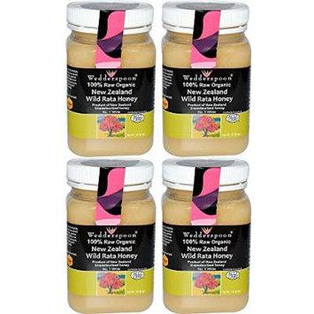 (4 PACK) - Wedderspoon - Organic Rata Honey | 500g | 4 PACK BUNDLE