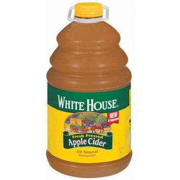 White House: Fresh Pressed Apple Cider, 1 gal
