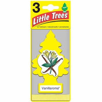 Little Trees Car Air Freshener, Vanillaroma 3 ea (Pack of 4)