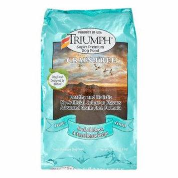 Sunshine Mills Triumph Grain-Free Duck, Chickpea & Sweet Potato Dry Dog Food, 26 Lb