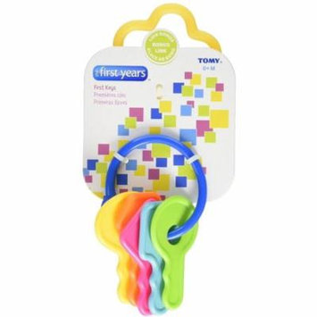 The First Years Learning Curve First Keys Teether 1 ea (Pack of 4)