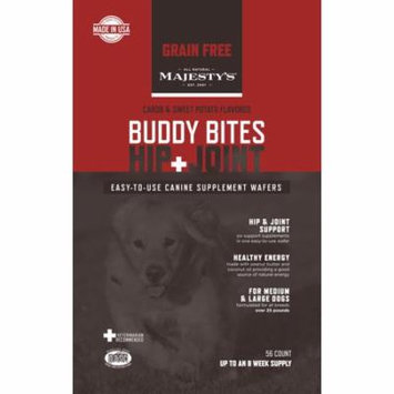 Majesty's Buddy Bites Hip & Joint Grain-Free - 56 count