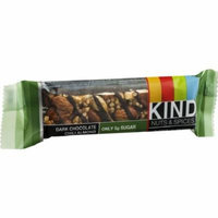 Kind Nuts & Spices Bar, 1.4 oz bars, Dark Chocolate Chili Almond, 12 bars (Pack of 6)