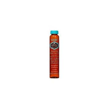 Hask Argan Oil Repairing Shine Hair Oil 5/8 oz (Pack of 6)