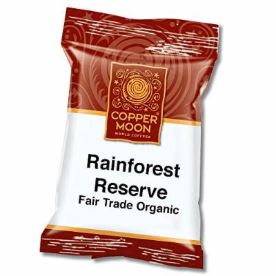 Copper Moon Fair Trade Rainforest Reserve Organic Coffee, Portion Packs, 2.25 Ounces, 36 Count