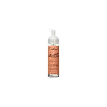 Shea Moisture Frizz-Free Curl Mousse, Coconut & Hibiscus 7.5 oz (Pack of 6)