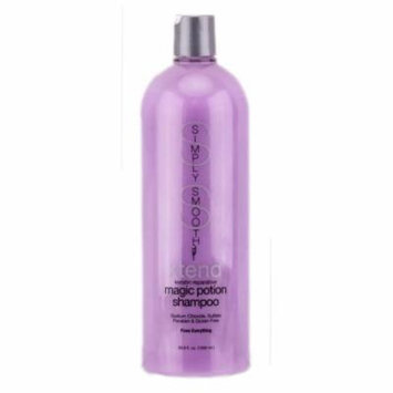 Simply Smooth Xtend Keratin Reparative Magic Potion Shampoo (Size : 33.8 oz)