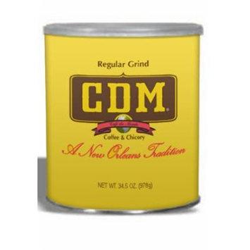 CDM Coffee and Chicory, 34.5-Ounce