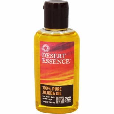 Desert Essence 100% Pure Jojoba Oil 2 oz (Pack of 3)