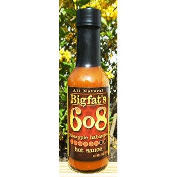 Bigfat's 6o8 Pineapple Habanero Hot Sauce (3 Pack)