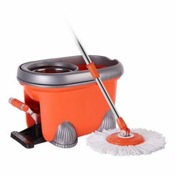 Mount-it Foot Operated Spin Mop Bucket