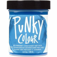 Jerome Russell Punky Colour Semi-Permanent Conditioning Hair Color, Blue Lagoon 3.50 oz (Pack of 3)