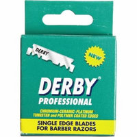 Derby Professional Single Edge Razor Blades 100 ea (Pack of 3)